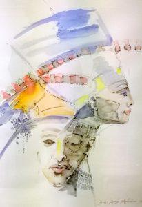 Hallitsijapari Nefertiti ja Ekhnaton