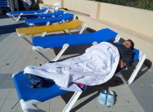 Aurinkokylpylässä